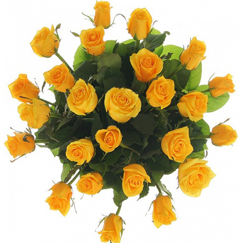"Букет ""25 желтых роз"""
